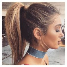 High pony Pinterest: ↞MaceyAlexisLloyd↠