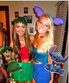 The Caitlin Diaries: Halloween Costume Ideas 2015 College Lilo and Stitch Friend…