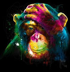 colorful paintings by patrice murciano. Read Full article…