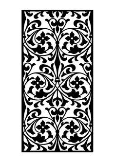 Stencils, Stencil Templates, Stencil Patterns, Pattern Art, Pattern Design, Stencil Decor, Laser Cut Paper, Laser Cut Metal, Jaali Design