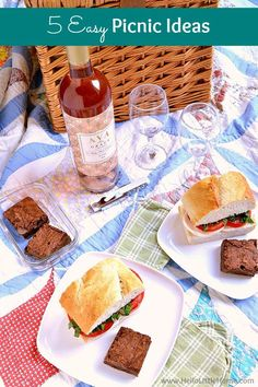 Simple DIY outdoor picnic ideas for the perfect summer day… 5 easy ideas! Simple DIY outdoor picnic ideas for the perfect summer day at the park, beach, or even backyard. Easy picnic food ideas and… Continue Reading → Picnic Food Kids, Picnic Date Food, Beach Picnic Foods, Picnic Dinner, Picnic Lunches, Beach Meals, Summer Picnic, Picnic Parties, Beach Picnic Recipes
