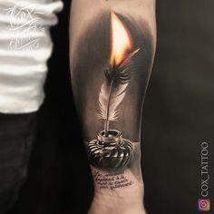 """13.7k aprecieri, 254 comentarii - COX TATTOO (@cox_tattoo) pe Instagram: """"🔥🖋📜 Merci à @maska09 pour sa confiance #coxtattoo #french #tattoos #tattoo #tatouage #trap #rap…"""""""