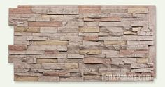 Wellington Dry Stack Sand Panel, this would look amazing over my U.G.L.Y red brick fireplace!