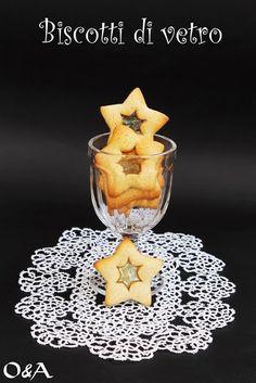 Olio e Aceto: Ricetta biscotti di vetro