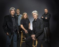 Three Dog Night band members Cory Wells, from left, Paul Kingery, Michael Allsup, Danny Hutton and Pat Bautz. Live Music, Rock Music, Cory Wells, Future Concert, Laura Nyro, The Guess Who, Three Dog Night, Top 40 Hits, Rock Groups