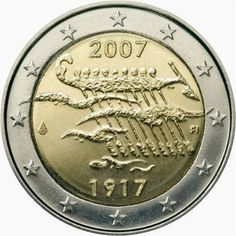 Billet En Euros, Coins, Personalized Items, Coin Art, Historia, Old Things, Finland, Tips And Tricks, Money