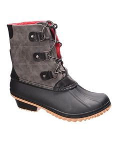 177244335705 This Gray Nova Lace-Up Boot is perfect!  zulilyfinds Winter Fashion Boots