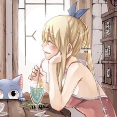 Happy & Lucy Heartfilia || Fairy Tail