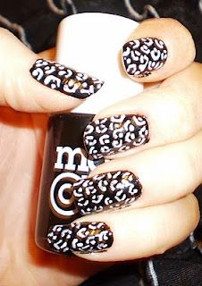 Did this to my nails today. The look epic. So easy to do at home, no joke.