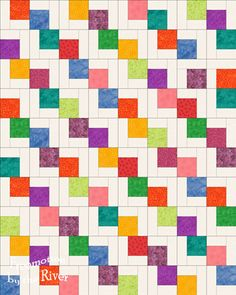 Falling Charms.. Missouri  Star Quilt Shop has a video on this pattern... very pretty