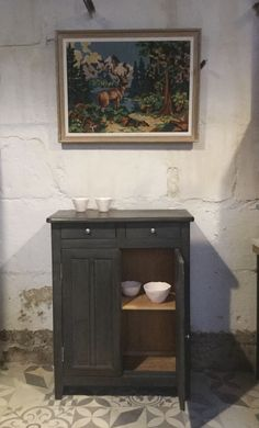Buffet parisien Annie Sloan Chalk paint Banaborose