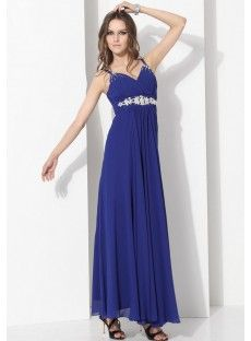 Chiffon Sheath Evening Dress