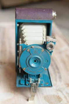 Vintage Blue and Purple Kodak Petite Folding by ThePerfectLight