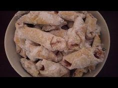 Cornulete fragede cu osanza (RETETA VECHE) - YouTube