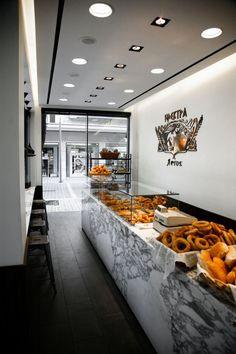 Beautiful Bakery Design in Edessa, Greece