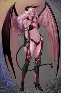 Halloween Adopt: Succubus CLOSED by M1karu
