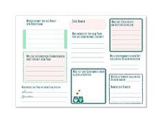 Hochzeitsgästebuch - Gästebuch Shabby mit Fragen an die Gäste (PDF) - ein Designerstück von Be-nice-4-you bei DaWanda (Best Gifts 2017)