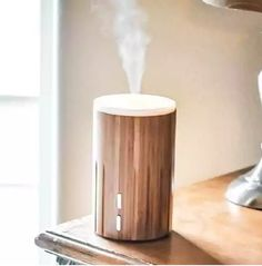 Fill your home with a smell-o-riffic Aroma Bamboo Diffuser. Harnessing the power of ultrasonic vibrations, it breaks down and diffuses essential oil and water into a mist of micro-particles. This mist