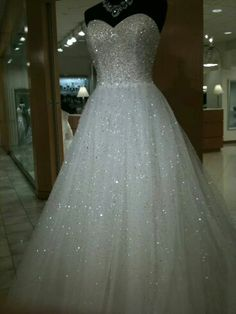 Beautiful sparkle ball gown