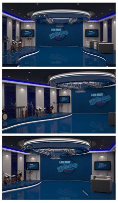 Tv Set Design, Stage Set Design, Event Design, Virtual Studio, Church Design, Television Program, Studio Design, Filming Locations, 3ds Max