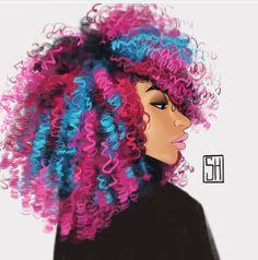 Berry bash curls
