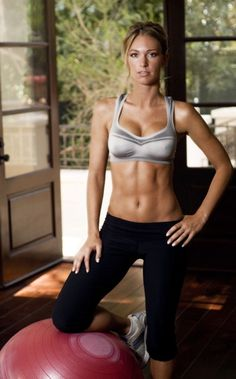 i aspire to such abs... i fear i would have to give up food though and that = mean Whitney...