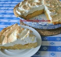 This old fashioned butterscotch pie recipe will quickly become a favorite dessert to serve friends and family or take to any gathering.