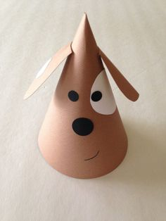 PUPPY DOG Party Hats Set of 6  Super cute by AnnaliseJDesigns, $18.00