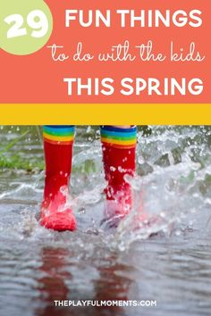 29 Creative and Fun Ways to Combat Spring Fever I Fun Family Activities
