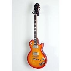 Epiphone Les Paul Tribute Plus Electric Guitar Faded Cherry Burst 888365994604