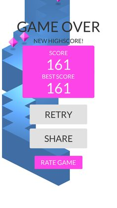 OMG!Imade 161 zigzags playing #ZigZag https://itunes.apple.com/app/id951364656