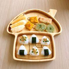 Baby Food Recipes, Dessert Recipes, Desserts, Toddler Meals, Kids Meals, Rice Balls, Bento Box, Little People, Japanese Food