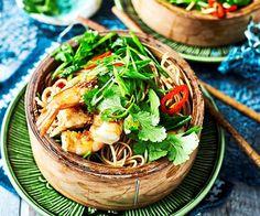 Soba Noodle Salad Recipe with Prawns & Sesame Dressing recipe   Food To Love