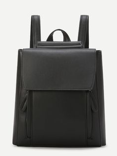 db49a305d1fc Black Vintage PU Backpack Бюджетная Мода, Мода Рюкзак, Винтажные Рюкзаки,  Китайский, Сумки