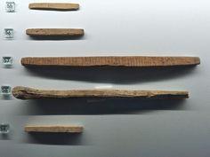 Norway Bergen - Bryggens Museum, runic inscriptions
