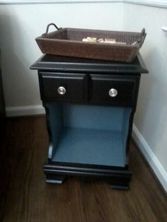 End Table makeover.