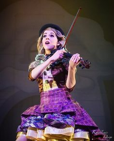 """Instagram: """"Lindsey Stirling The Warmer in the Winter Tour Repost from: @kataklizmicdesign Photo Credit:…"""""""