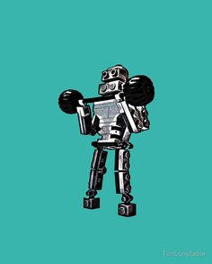 Pumping Iron at Robbie's Gym! Pumping Iron, Funny Pictures, Funny Pics, Sci Fi, Darth Vader, Gym, Robots, Lego, Campaign