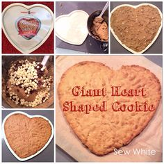Nordic Ware's New Giant Heart Shaped Cookie Tin   Sew White