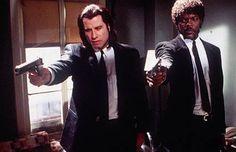 Pulp Fiction (1994) Director: Quentin Tarantino Stars: John Travolta, Samuel L. Jackson, Bruce Willis, Uma Thurman