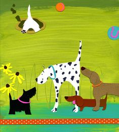 'The Dog Park' by Shelley Davies