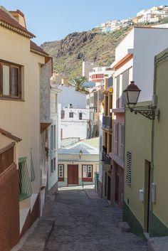 San Sebastián de La Gomera - La Gomera - Canary Islands - Spain (by Allan Harris) Tenerife, Balearic Islands, Canario, Canary Islands, Travel Memories, Beautiful World, The Good Place, Places To Visit, Architecture