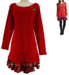 18 2X NWT SEXY Womens JOE BROWNS SWEATER DRESS Knit Winter Holiday PLUS SIZE NEW #JoeBrowns #Versatile