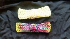 Crochet baby hairbands\  found at  https://www.etsy.com/shop/gottatellyou  Find me on ebay user name michellesgottatellyou