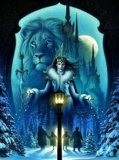 The Chronicles of Narnia: The Loin, The Witch and The Wardrobe Fan Art Twilight Film, Aslan Narnia, Narnia Movies, Pinturas Disney, Chronicles Of Narnia, Fan Art, Art Plastique, Mythical Creatures, Fantasy Art