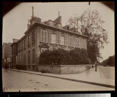 Hotel Thiroux de Montsange Rue de la Boetie 111 (8e) - Eugène Atget
