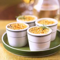 Find the recipe for Gorgonzola and Leek Crème Brûlée  and other leek recipes at Epicurious.com