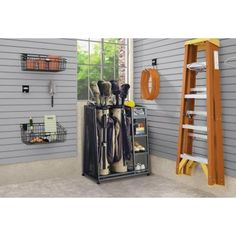Suncast 17.5 in. x 32 in. Golf Organizer-GO3216D - The Home Depot