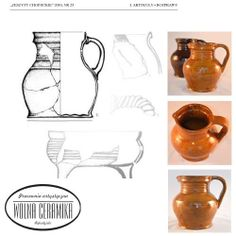 Medieval jugs, XV.