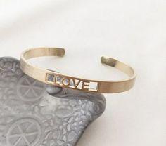 Gold Love Bracelet Copper Cuff, Love Bracelets, Gold, Jewelry, Jewlery, Jewerly, Schmuck, Jewels, Jewelery